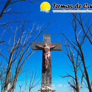 El Cristo del Lago en Carhué