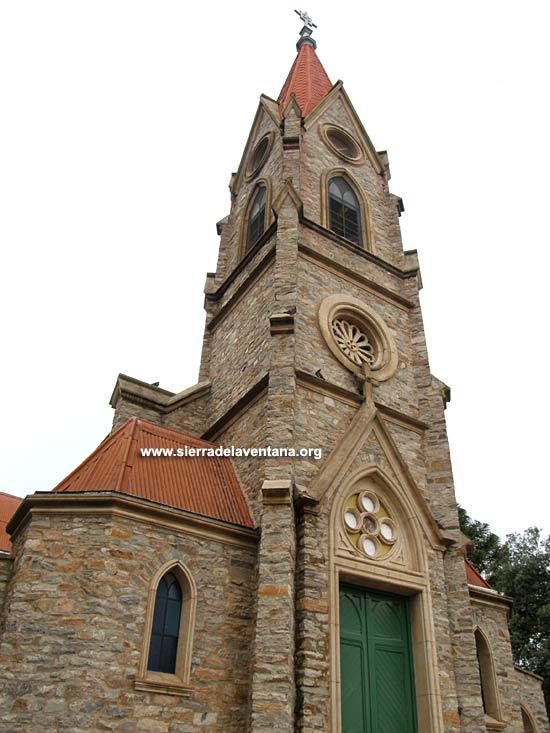 Iglesia Santa Rosa de Lima en Sierra de la Ventana y Villa Ventana