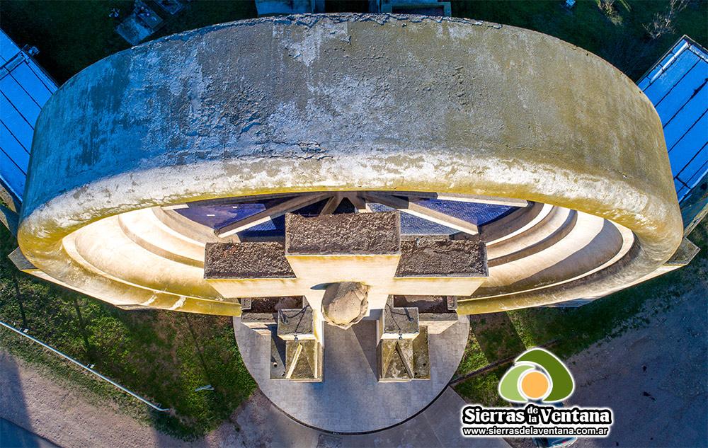 El Portal del Cementerio de Saldungaray en Sierra de la Ventana y Villa Ventana