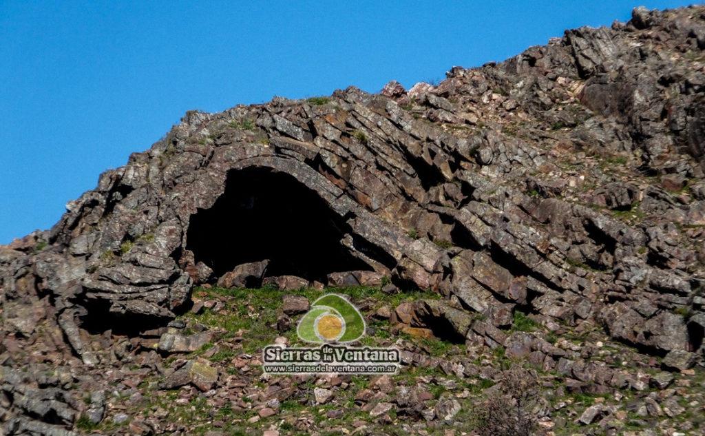 Cuevas en Sierra de la Ventana