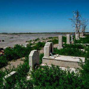 El Cementerio abandonado de Carhué